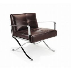 Livingsten Retro Brown Chair_10730