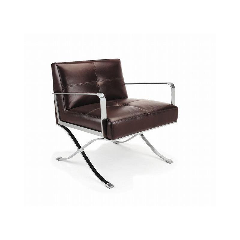 Livingsten Retro Brown Chair_10730