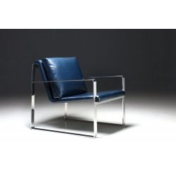Livingsten Retro Blue Chair