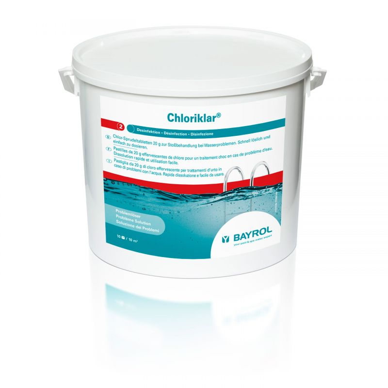 BAYROL Chloriklar 3kg_11357