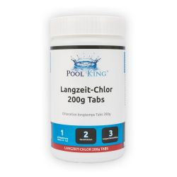 PoolKing Langzeit-Chlor Tabs 200g_12599