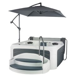 Whirlpool Dreammaker Spa Cabana Suite Black Diamond_14369