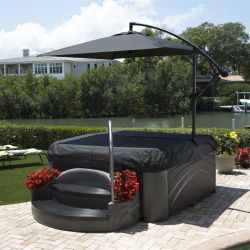 Whirlpool Dreammaker Spa Cabana Suite Black Diamond_14372