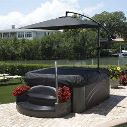 Whirlpool Dreammaker Spa Cabana Suite Black Diamond_14372