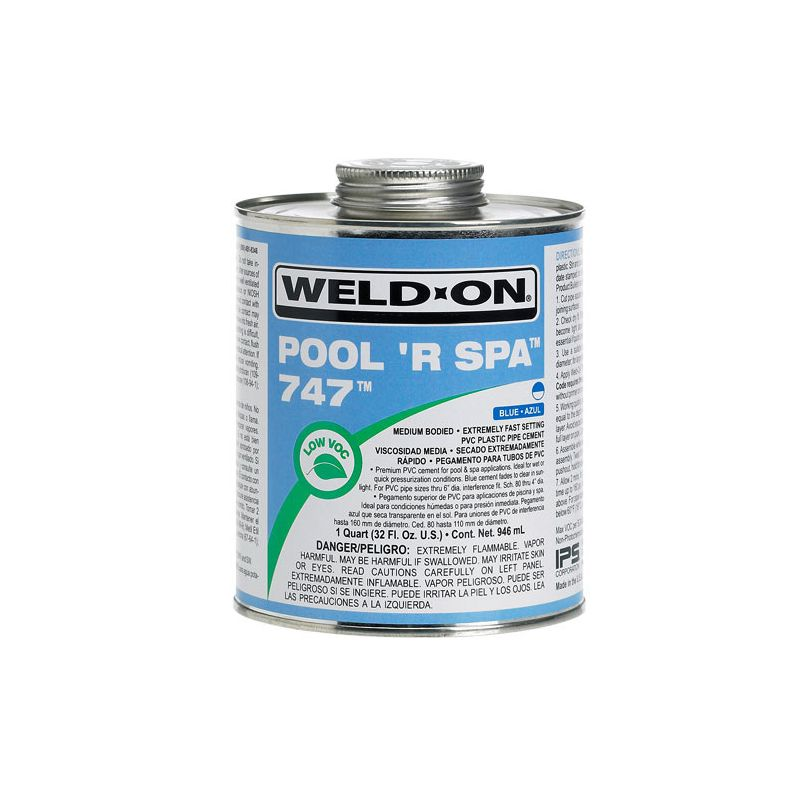 Weld On PVC Kleber 949ml Für Whirlpool und Schwimmbad_14501