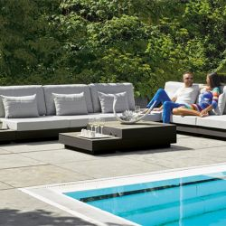LIFE Gartenlounge Passion Lounge Set White Aluminium Carbon_14655