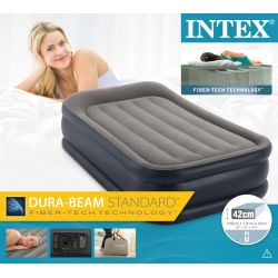 Intex Luftbett Deluxe Pillow Einzelbett_15371