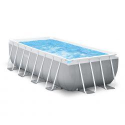 Intex Prism Frame Rectangular Premium Pool Set | Grösse XL_15890