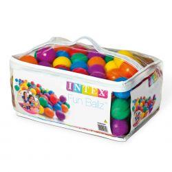 Intex 100 bunte FunBallz Spielbälle_16072