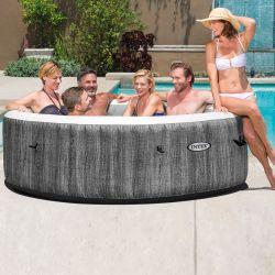 Intex Whirlpool PureSpa Greywood Deluxe Ø 216 cm, (6 Personen) 2020_16228