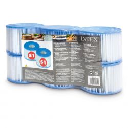 Intex Filterkartuschen Whirlpools Typ S1 Six Pack_16238
