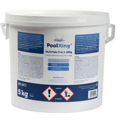 PoolKing MultiTabs 5 in 1, 200g Tabs 5kg_16445