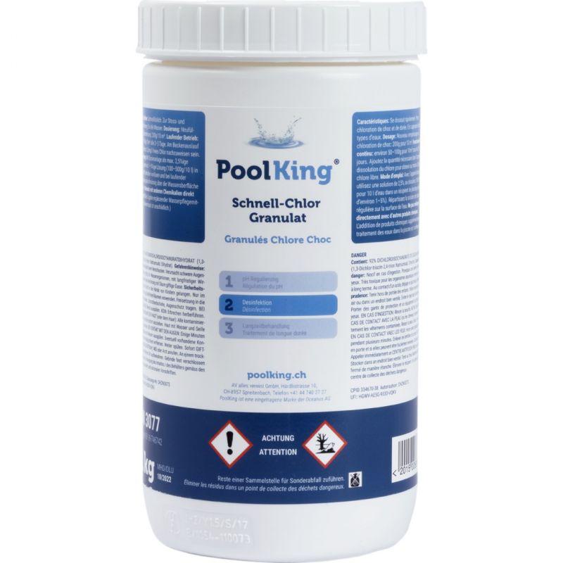 PoolKing Schnell-Chlor Granulat 1Kg_16448