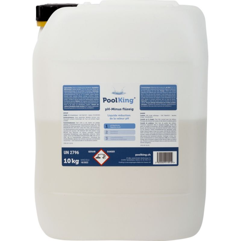 PoolKing pH Minus flüssig 10 Kg_20978