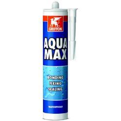Griffon Klebedichtmasse Aqua Max 425gr Grau_33888