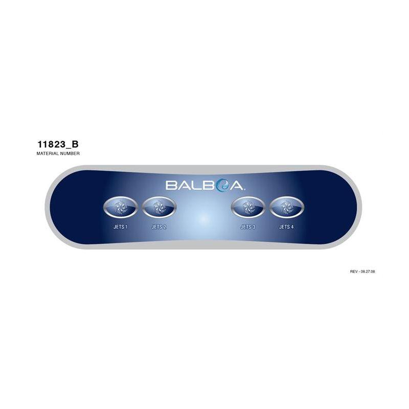 Tastatur Kleber für Display Balboa AX40_3647