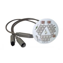 21 LED, 5'' light, daisy chain_3962