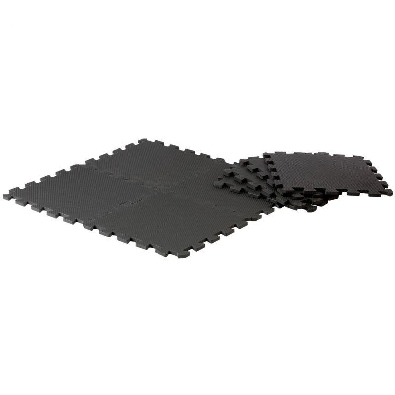Pure2Improve Puzzle Schutzmatten schwarz_40132