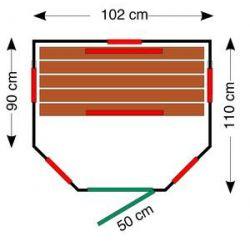 Infrarotkabine ThermoSpav 100 U_46997