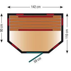 Infrarotkabine VitalTech ID 140 U_47020