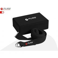 Pure2Improve Yoga Set, beinhaltet Yogagurt und Yogablock_47600