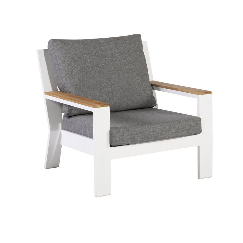 Valerie Lounge Chair Weiss_48042