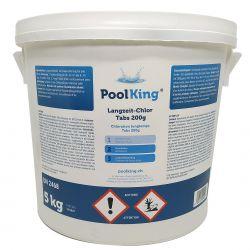 PoolKing Langzeit-Chlor Tabs 200g 5Kg_48711