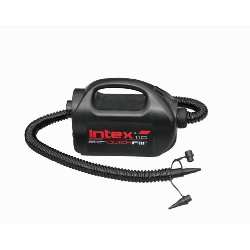 Intex Luftpumpe Elektrik-Pumpe Quick Fill High PSI Schwarz_49509
