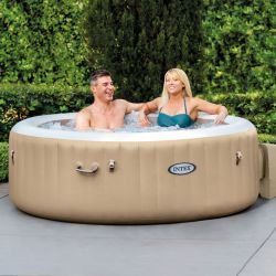Intex Whirlpool PureSpa Bubble Massage Ø 196 cm, (4 Personen) 2020_49718
