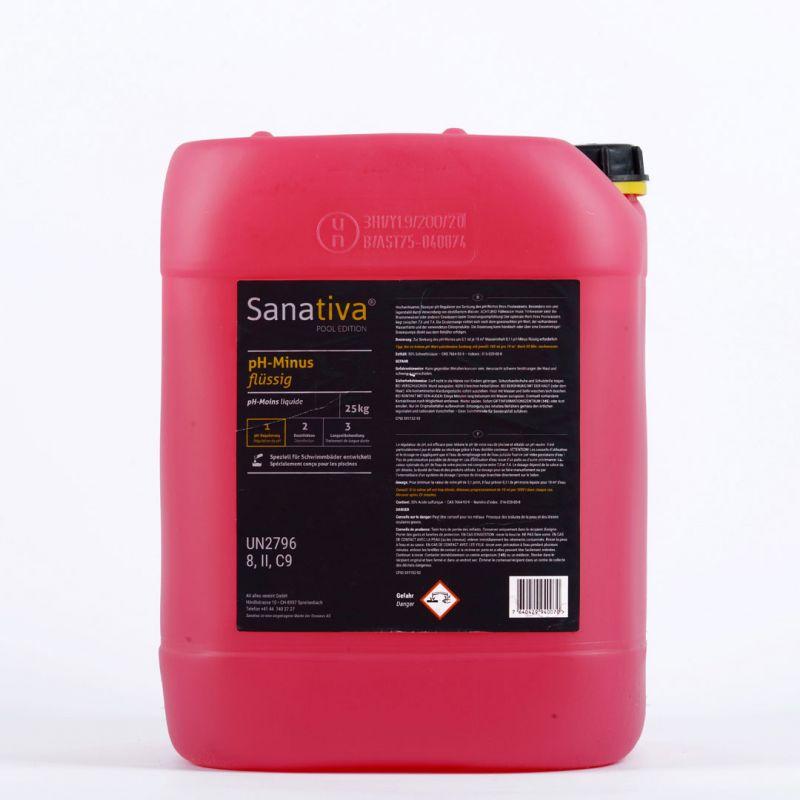Sanativa SPA Edition pH-Minus flüssig 25kg_56408