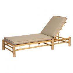 Bamboo Sunlounger_58793