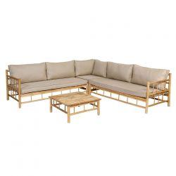Bamboo Ecksofa Set_58799