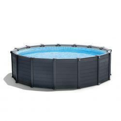 Intex Graphite Gray Panel Pool | Grösse XL_59055