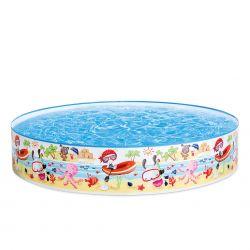 "Intex Snapset Pool ""Fun at the Beach"" Ø 152 cm_59317"