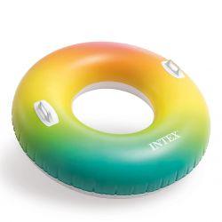 """Intex Schwimmreifen """"Rainbow"""" Ø 122 cm_59340"""