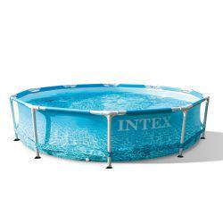 Intex Beachside Metal Frame Pool 305 x 76 cm  Neuheit 2021_59370
