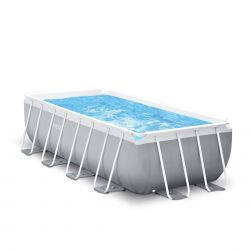 Intex Prism Frame Rectangular Premium Pool Set   Grösse L_59379