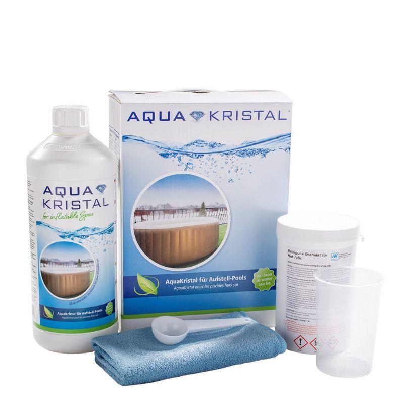 AquaKristal Wasserpflegeset für aufblasbare Whirlpools_60333