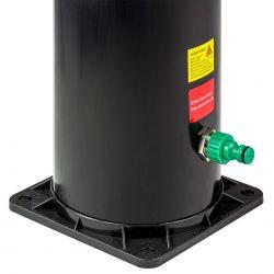 Solardusche Basic 35 Liter Silber_60379