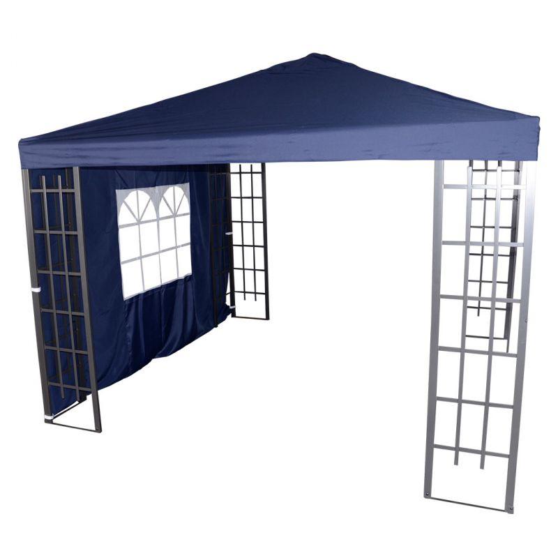 Pavillon Royal Seitenteil Blau_60908