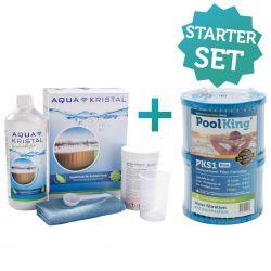 Starterset für aufblasbare Whirlpools (Pflege & Antibakterieller-Filter)_61382