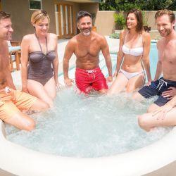 Intex Whirlpool PureSpa Bubble Massage Ø 216 cm, (6 Personen)_61599