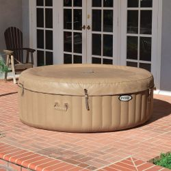 Intex Whirlpool PureSpa Bubble Massage Ø 196 cm, (4 Personen)_61614