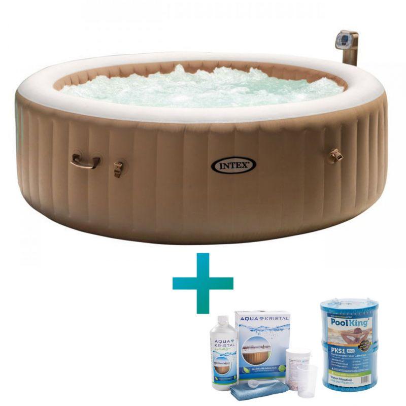 Intex Whirlpool PureSpa Bubble Massage Ø 216 cm, (6 Personen)_61618