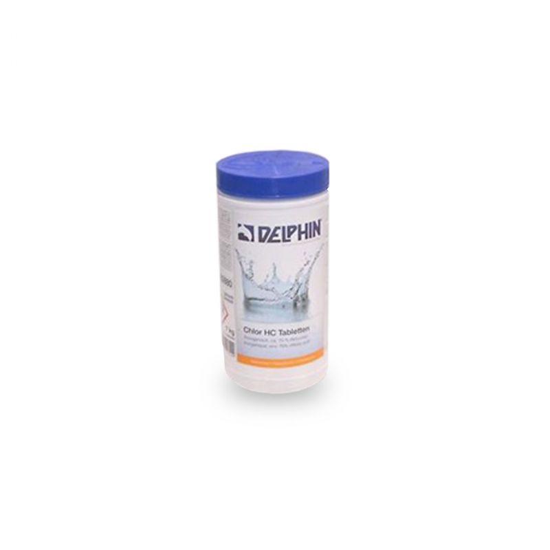 Delphin Chlor HC Tabs 20g 1kg_61623