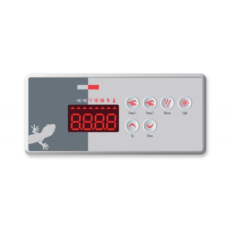 Gecko Bedienfeld TSC-35-GE1 inkl. OVERLAY_7130