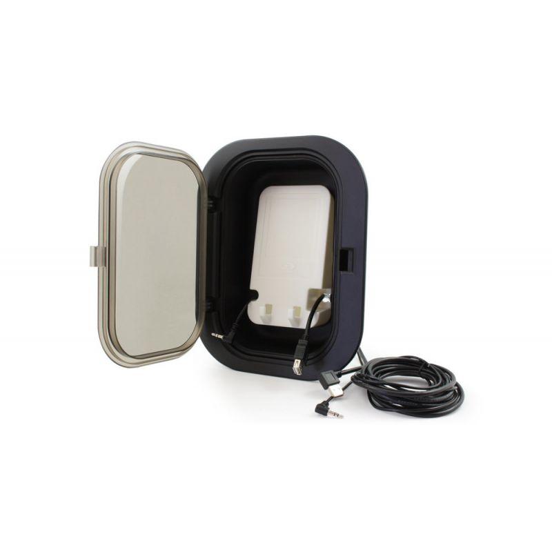 "Gecko in.p4 smartphone dock mit usb und 1/8"" stereo mini-jack_7209"