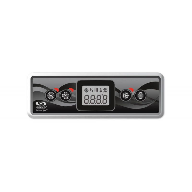 Gecko Bedienfeld IN.K300 1OP Display inkl. Overlay_7534