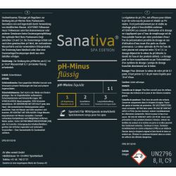 Sanativa SPA Edition pH-Minus flüssig 1L_8167