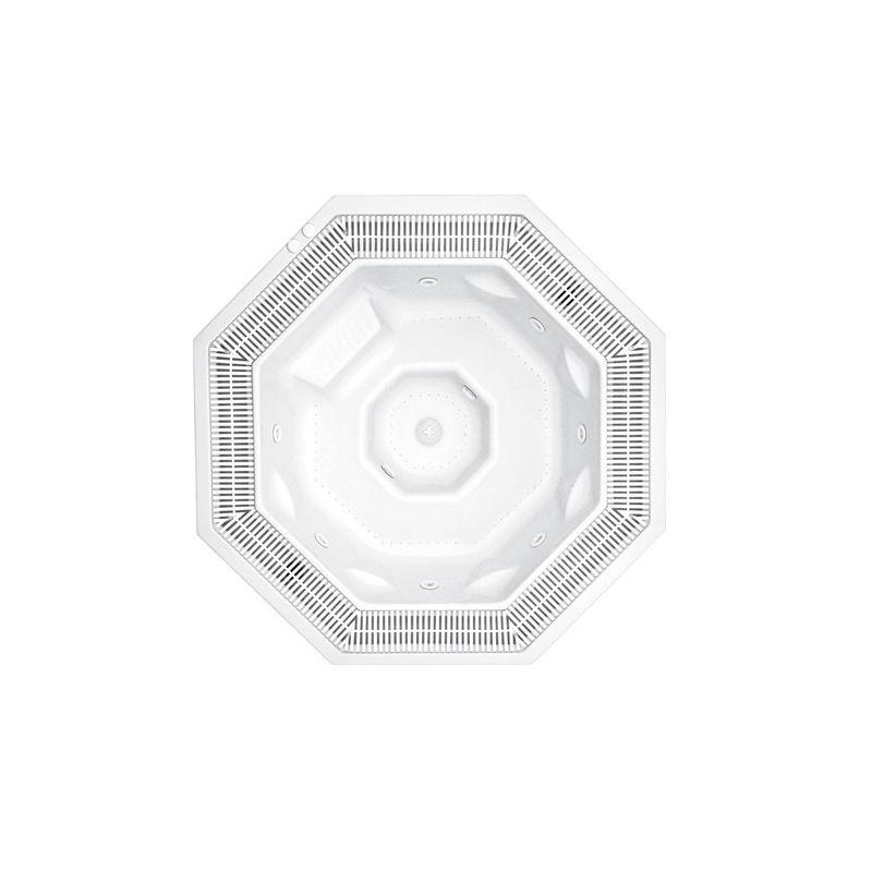 OCTAVIA 226 x 226cm mit Überlaufrinne_8220